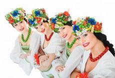 four ukrainian dancers