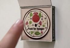 Магнитик на холодильнике для заказа пиццы