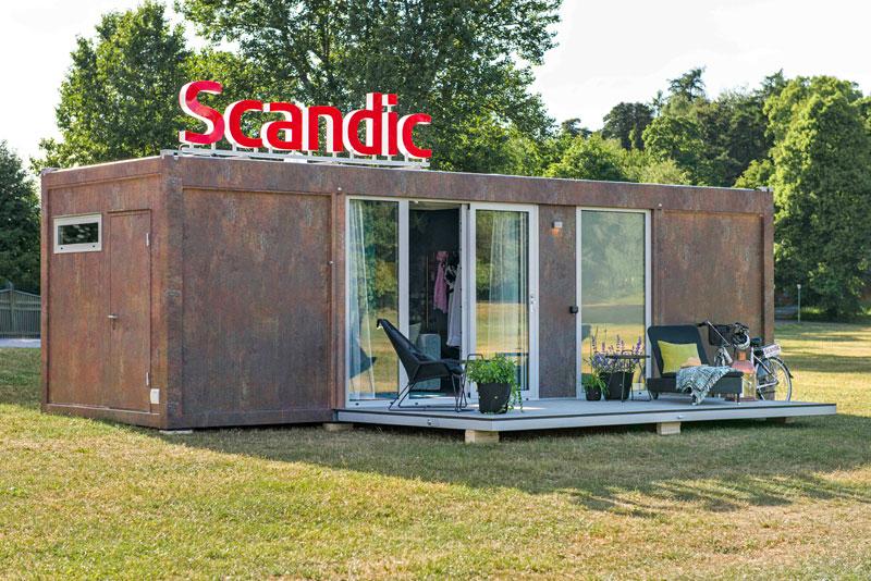 Мобильный отель Scandic To Go