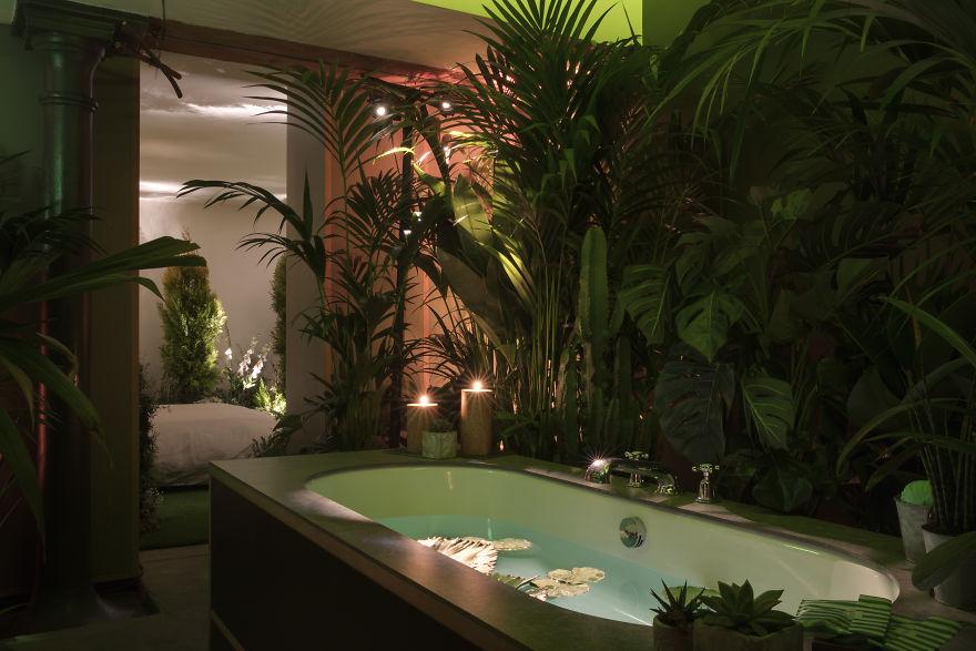 Airbnb-Greenery Hotel