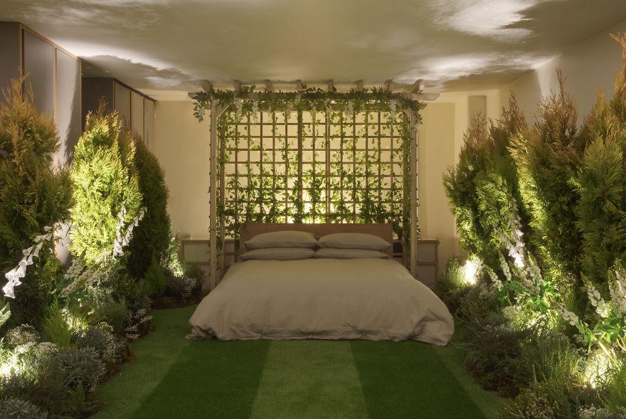 Greenery Hotel Room