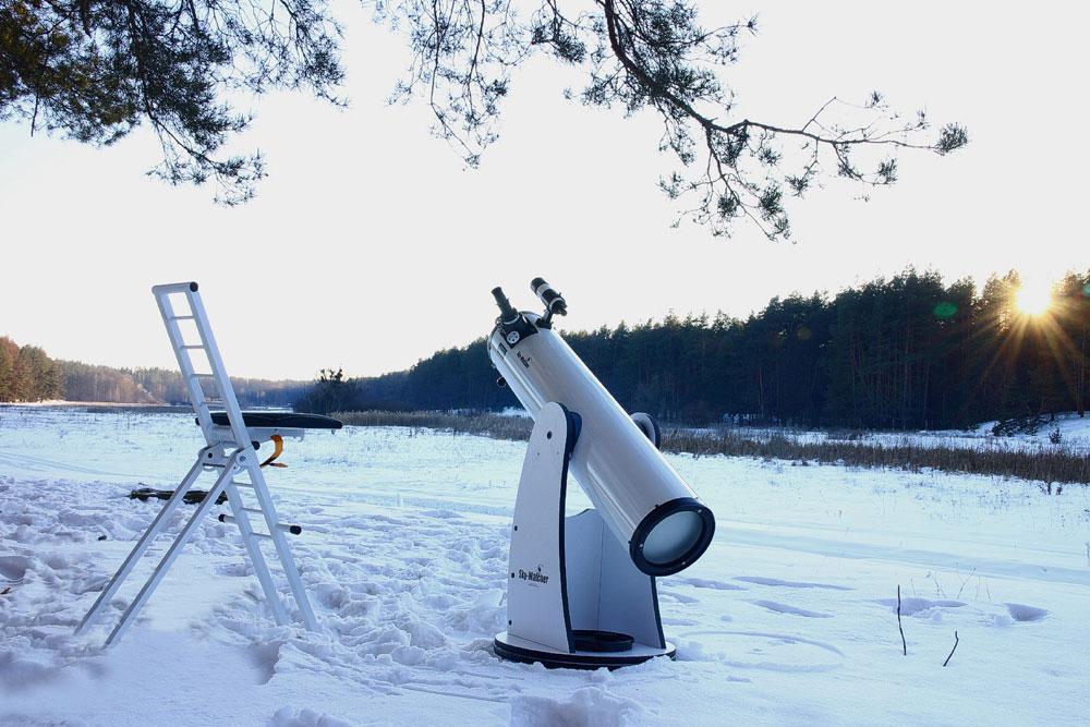 Телескоп в отеле