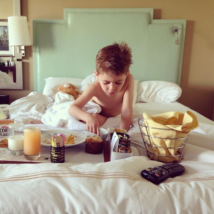 Семейный отдых в отеле