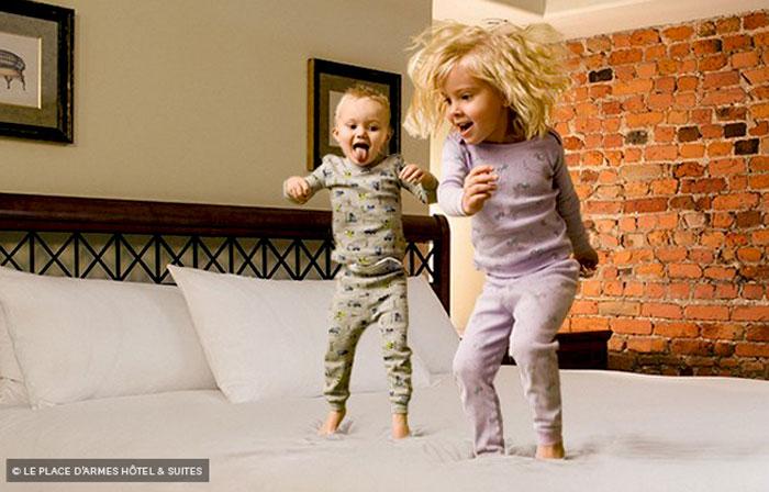 Дети в отеле
