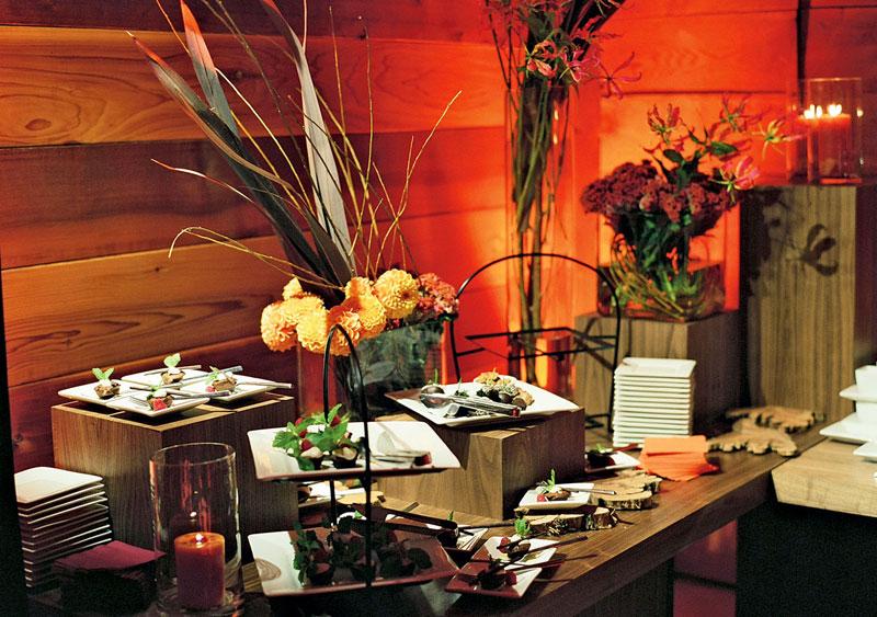 wedding-buffet-style