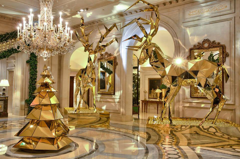 four seasons new year decor