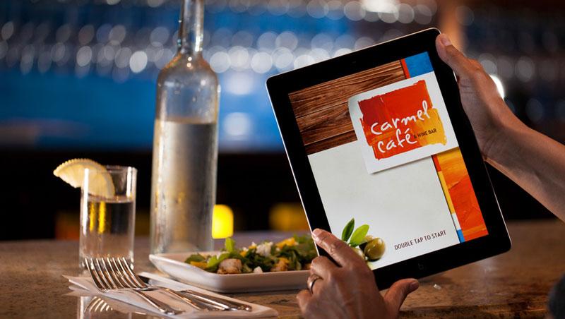 Pad меню стали привычными во многих ресторанах