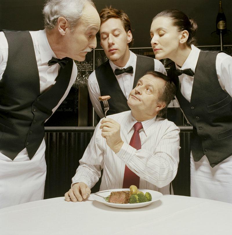 Restaurant-client