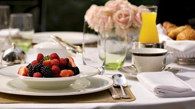«Здоровое меню» в отелях Four Seasons