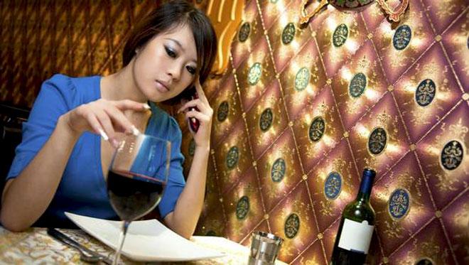 ужин в одиночестве