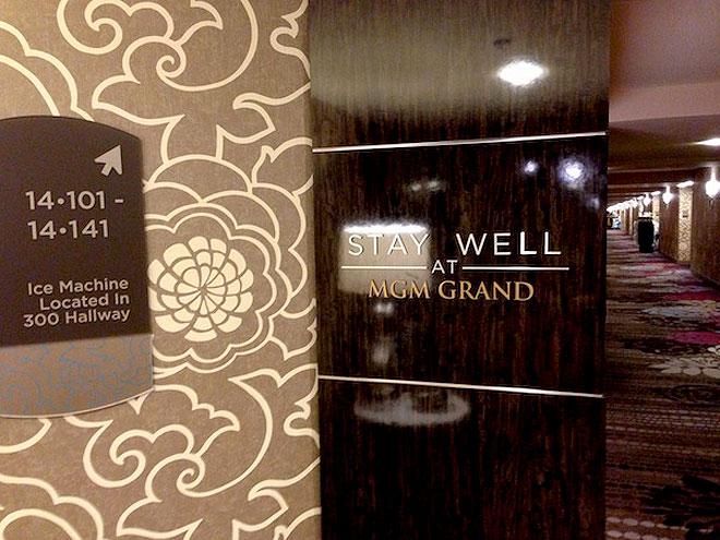 """Концепция """"Stay Well"""" в отеле MGM Grand"""
