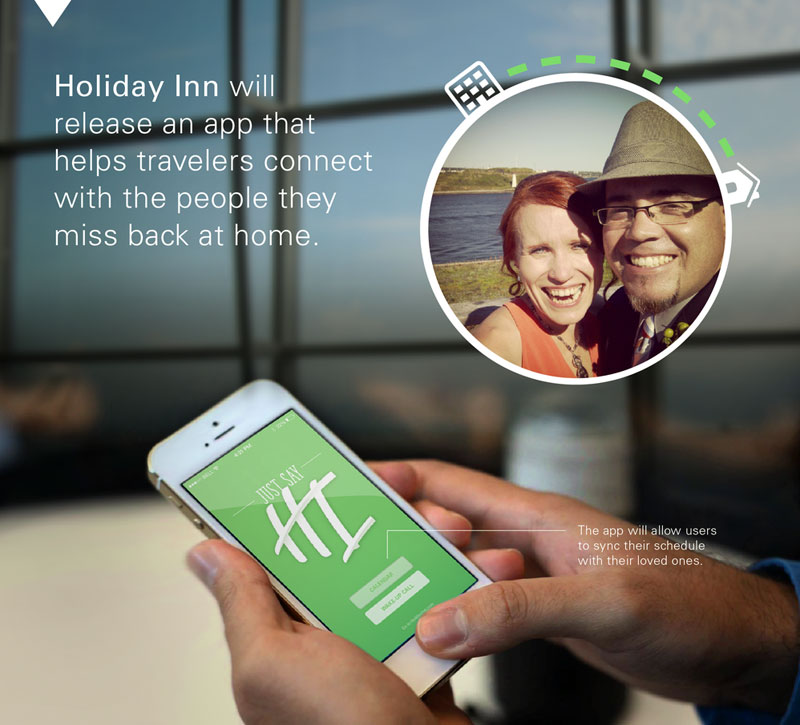 Мобильное приложение Holiday Inn
