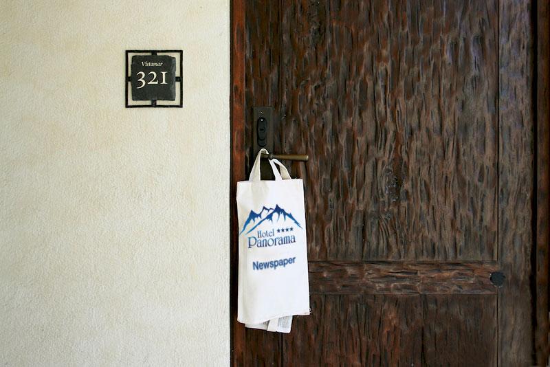 Пресса в отеле