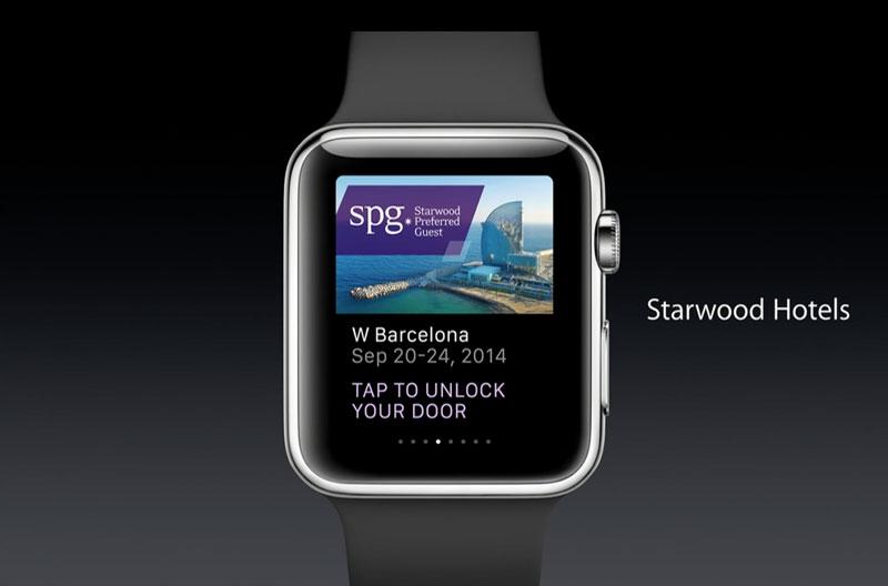 SPG-Keyless Apple-Watch