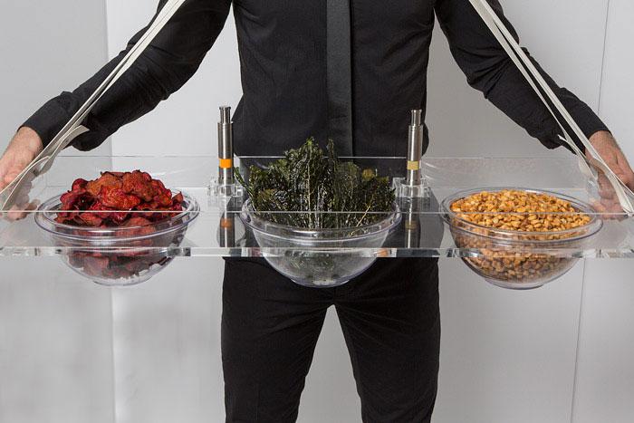 «Встряхни и закуси» - закуска из сушеных местных овощей и приправ