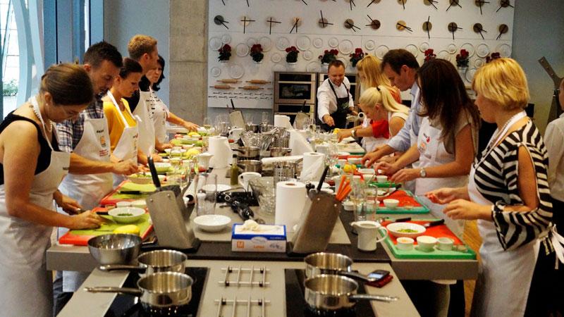 Кулинарные мастер-классы для участников конференций