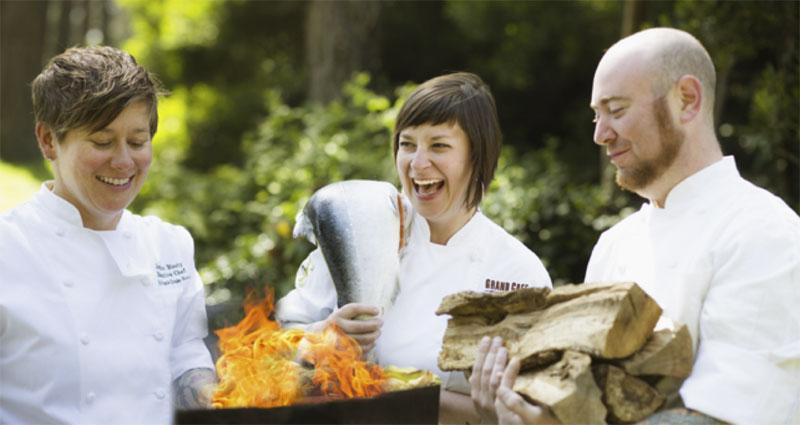 Кулинарный мастер-класс во время мероприятия в Kimpton Hotels & Restaurants