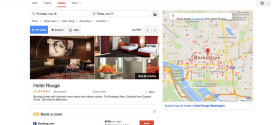 Google добавил к метапоиску отелей собственную опцию бронирования