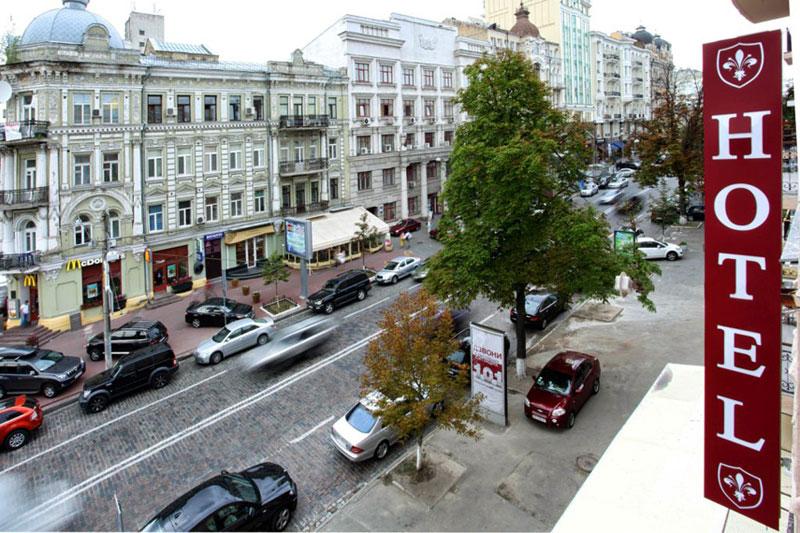 Kiev hotel Market 2015
