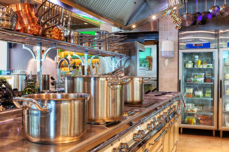 кухни в ресторане фото