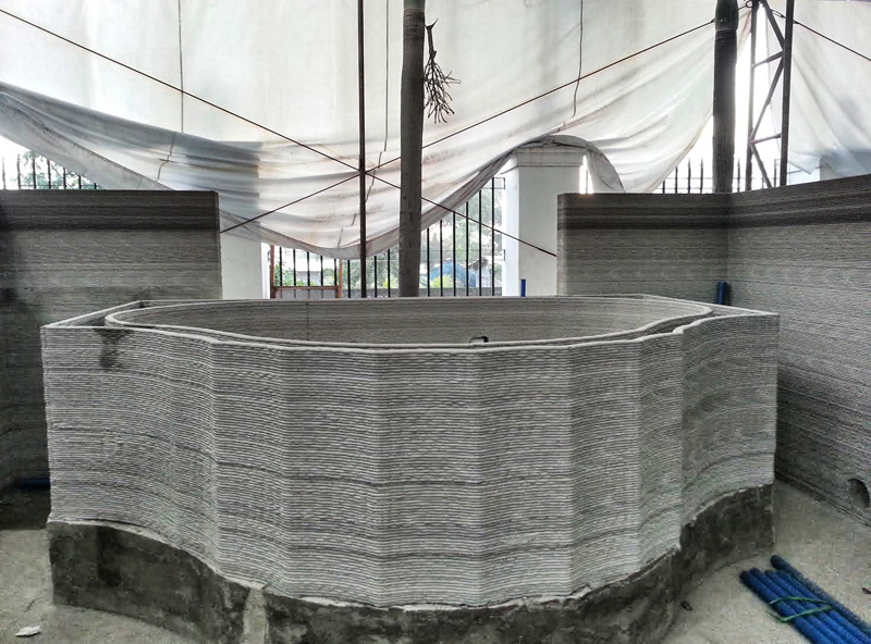 3D-Printed Hotel Room