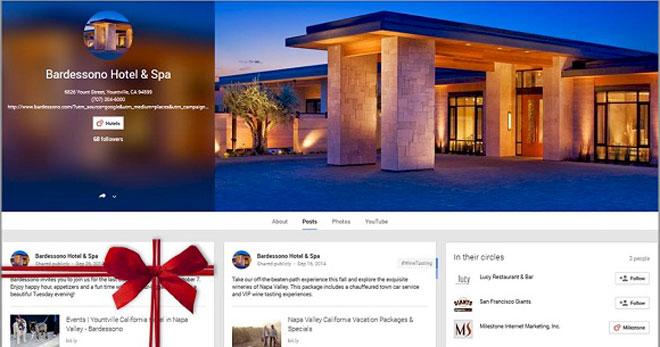 Оформление праздничного предложения в Google+