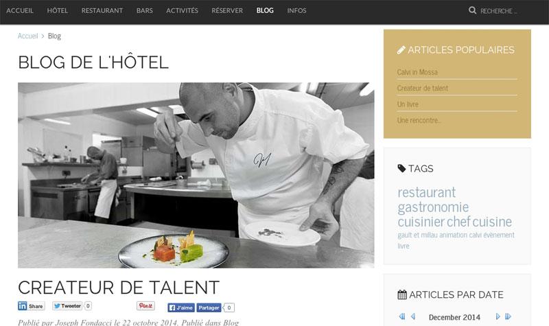 Блог испанского отеля