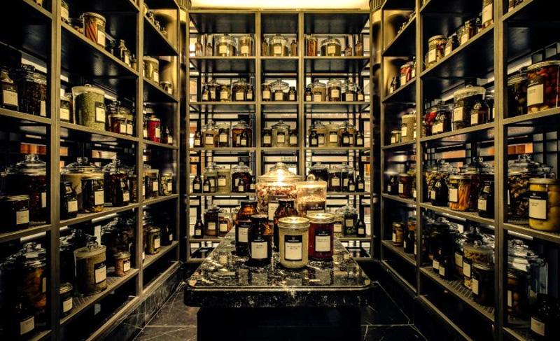 коллекция необычных ингредиентов