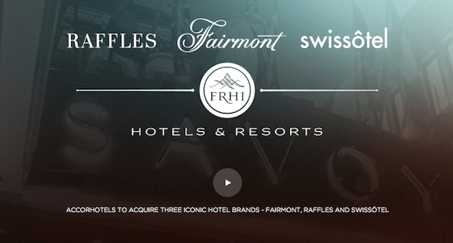 Accor-Fairmont Raffles Swissotel