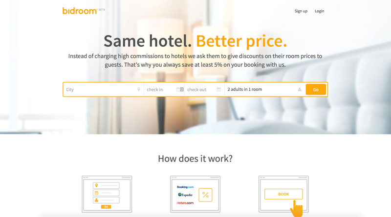 Bidroom - бронирование отелей