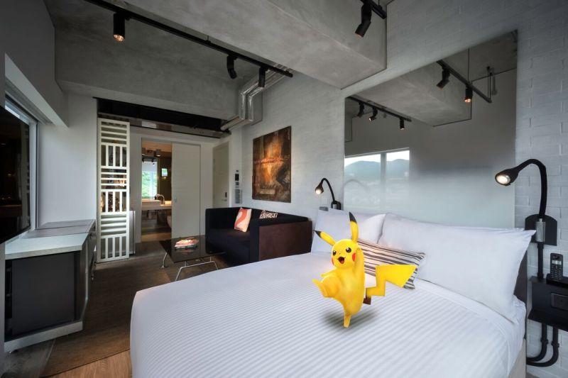 Покемономания в отелях