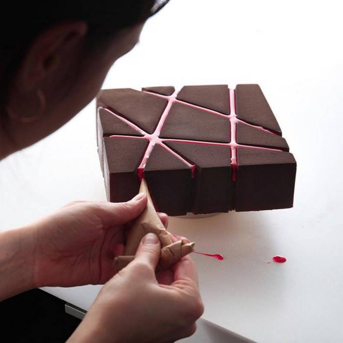 Architectural dessert and Diana Kasko