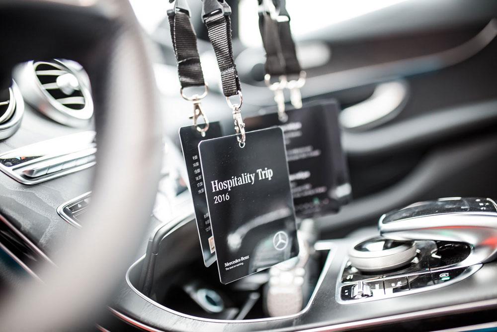 Mercedes-Benz Hospitality Trip 2016