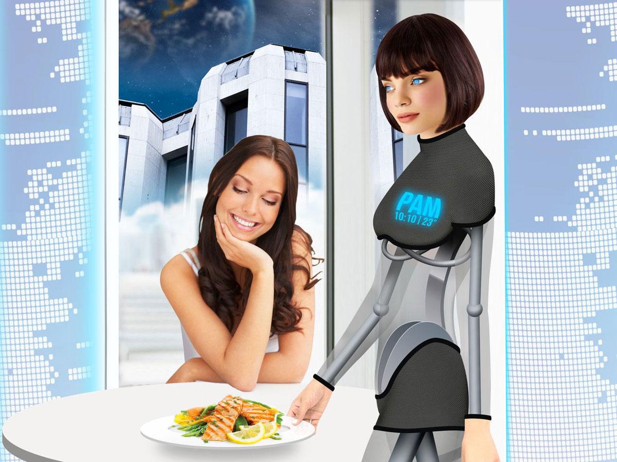 Роботы батлеры в отелях