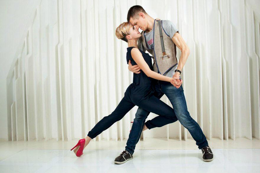 Уроки танцев День Влюбленных в отеле