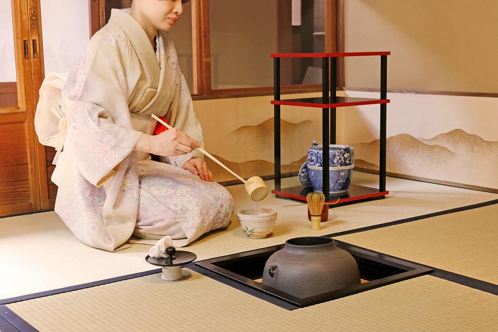 Чайная церемония в отеле
