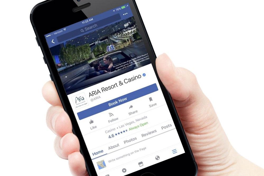 Бронирование отелей через путеводитель в фейсбук