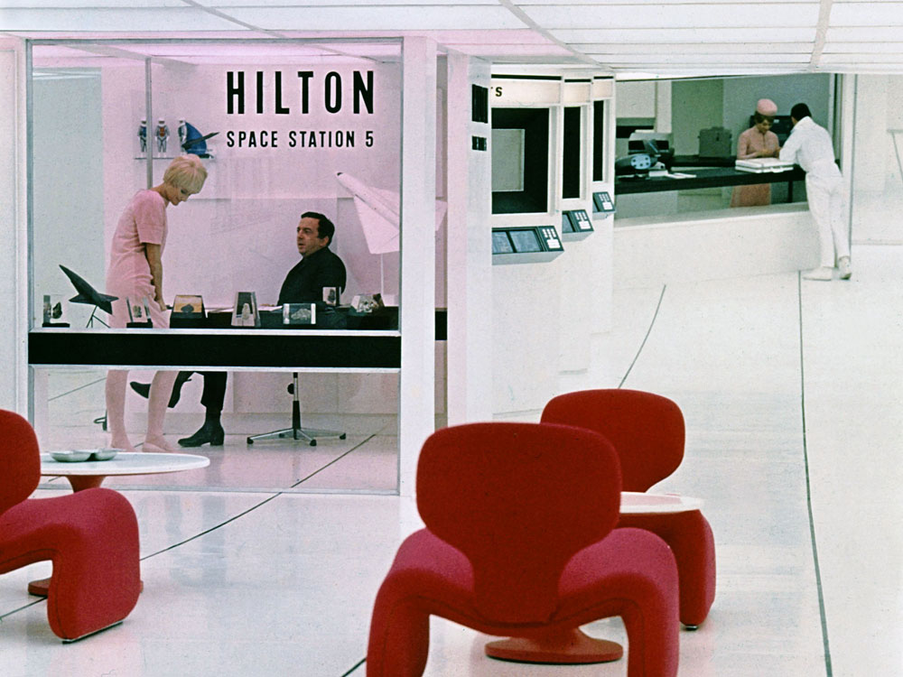 Hilton Space Station