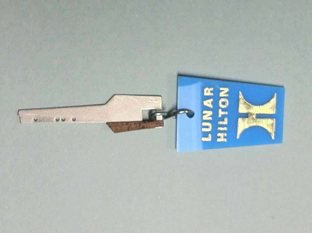 Макет ключа от номера Lunar Hilton