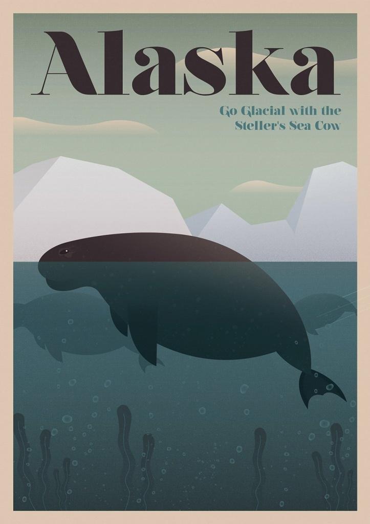 Аляска: Стеллерова корова