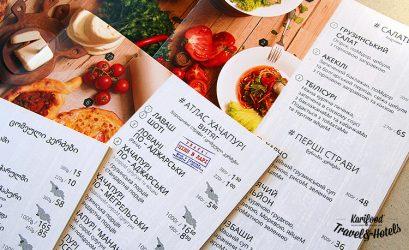Рестораны обязали напечатать меню на украинском языке