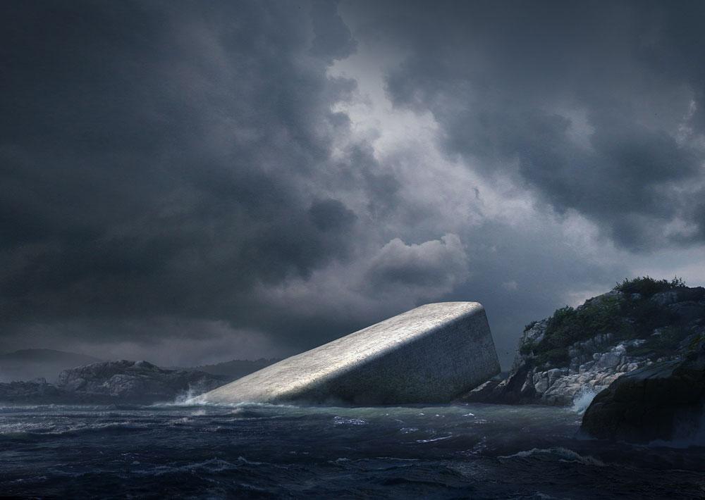 Самый большой в мире подводный ресторан