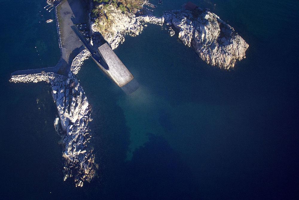 Подводный ресторан Норвегия