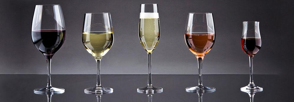 типы винных бокалов