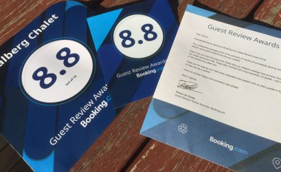 Guest Review Awards от Booking