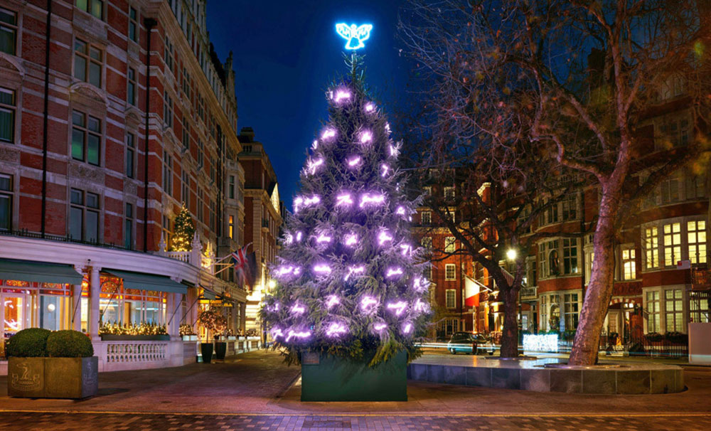 The Connaught Christmas Tree 2017 Tracey Emin