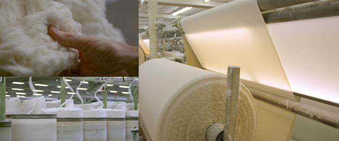 Ткацко-отделочный цех в Standard Textile и Tissage Mouline (Вогезы, Франция)