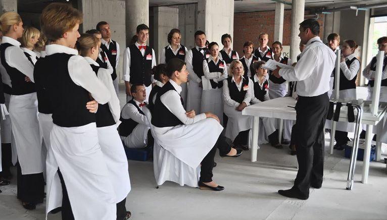 мотивация и обучение сотрудников ресторана
