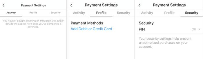 Instagram добавил функцию встроенных платежей