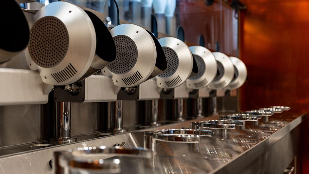 роботизированный ресторан